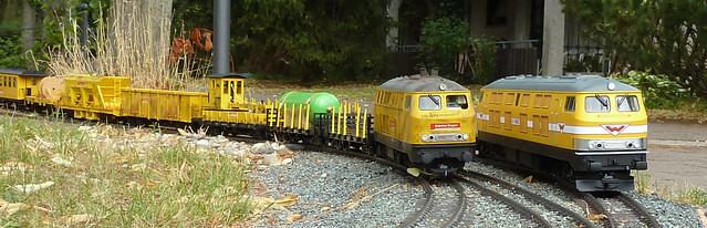 Wiebe V320 und BR218 Bahnbaugruppe