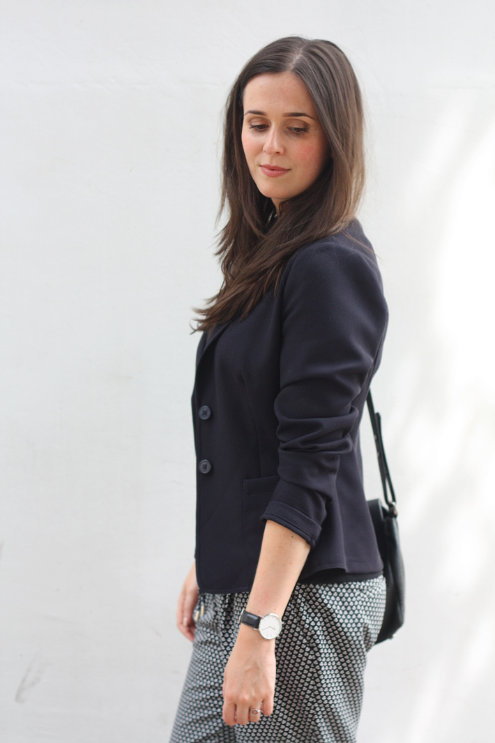 outfit: professional in s.Oliver blazer