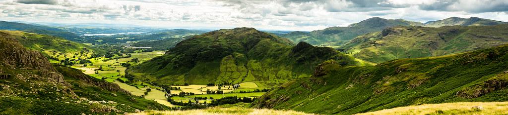 Great Langdale - Panorama