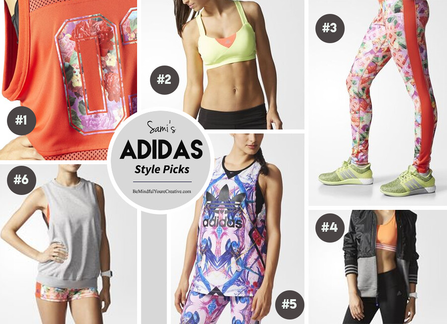 Workout Wednesday - Style pics with ADIDAS