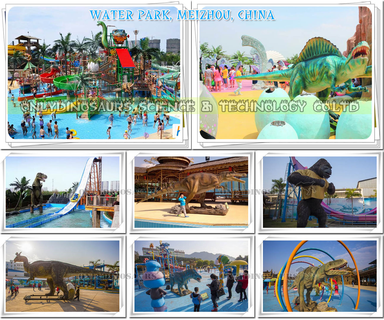 Dino Water Park in China