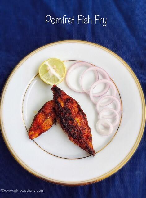 Pomfret Fish fry 5