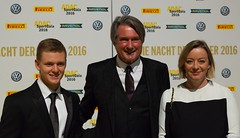 Mick Schumacher,Hermann Tomczyk ADAC und Sabine Kehm