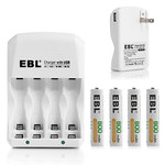 EBL rechargeable batteries & charger