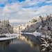 Winter reflection by VictoriaDitkovsky