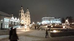 Catedral Ortodoxa Espíritu Santo. Calle Cyril y Methodius. Minsk (Bielorrusia).