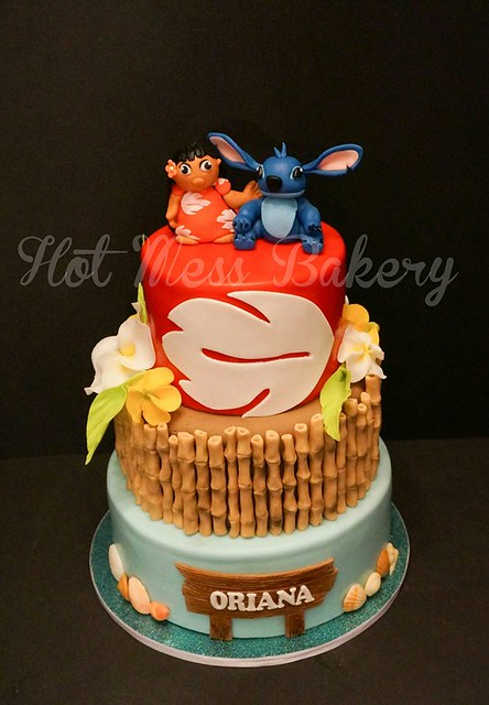 Cake by Hot Mess Bakery