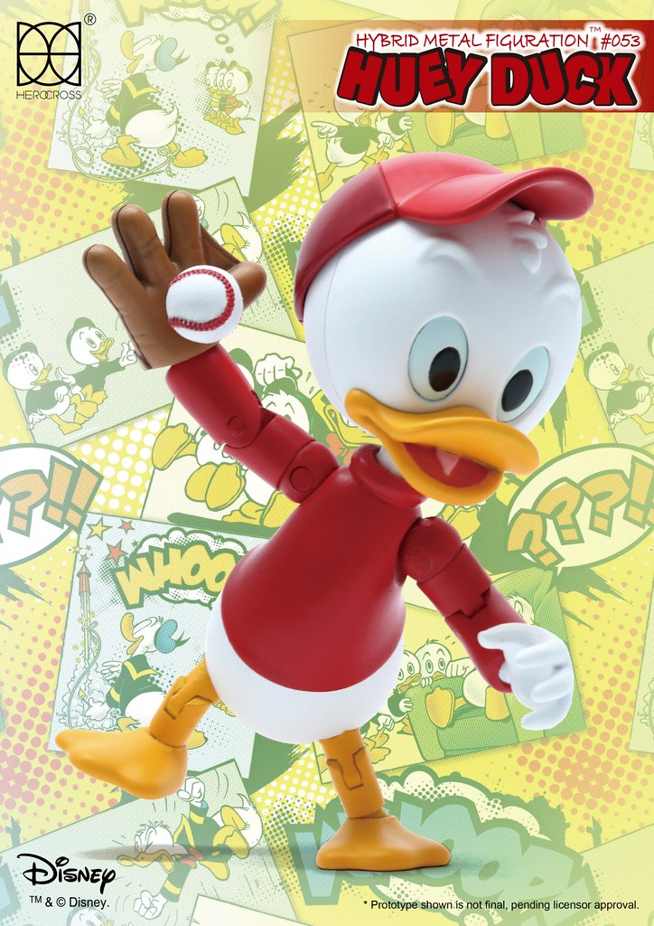 HEROCROSS【大哥鴨:輝兒】唐老鴨俱樂部 Huey Duck HMF#53