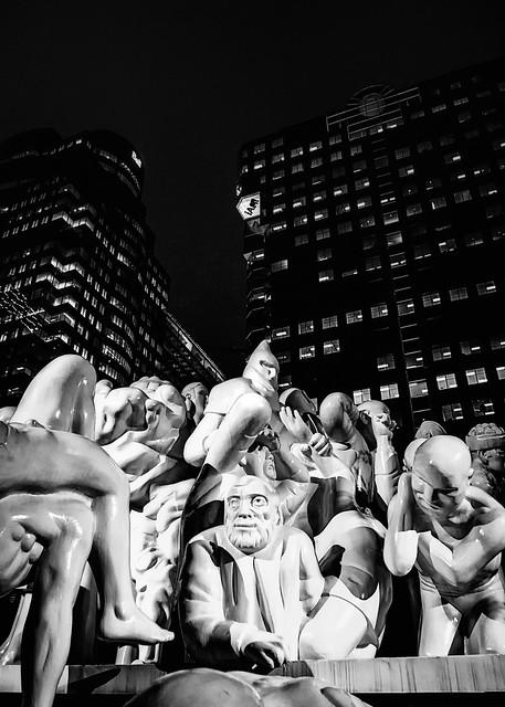 Detail 3: The Illuminated Crowd