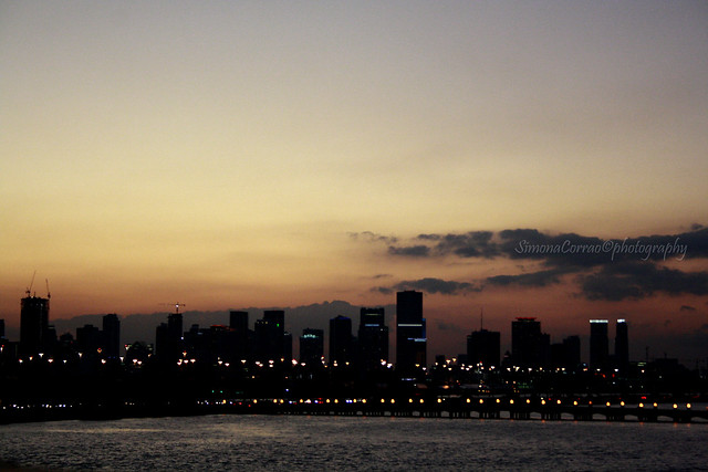 Il mio respiro al tramonto
