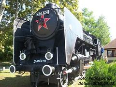 MÁV 424, 124 Dombóvár, 2010. 08. 12.