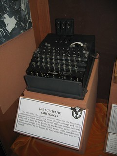 German Luftwaffe Enigma machine