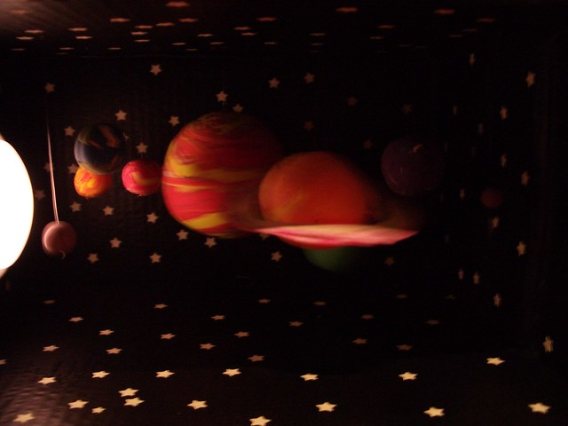 Solar System Diorama Step 6 Flickr Photo Sharing