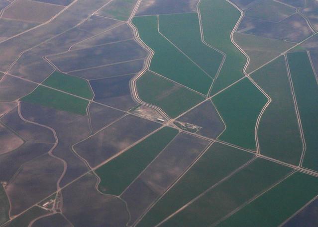 Fields east of San Jose