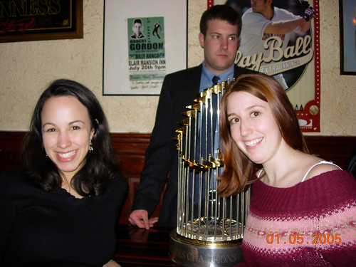 Red Sox World Series Trophy 2005