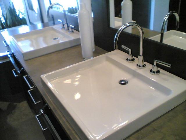 flat sinks