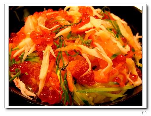 [2004日北小美食紀錄]2004-10-14-日本第一餐海鮮蓋飯