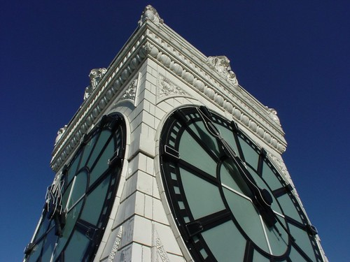The Vancouver Block clock tower