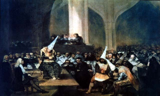 La Inquisicion, cuadro de Goya