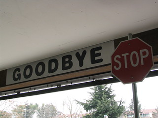 goodbye sign