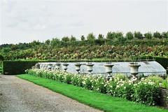 Jardín de un Castillo en el Valle del Loire.