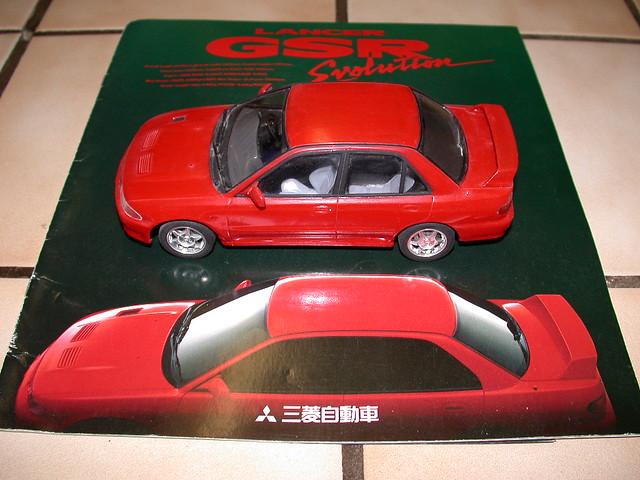 Lancer Evolution I Brochure & Model