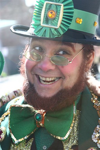 Leprechaun on St Patrick's Day