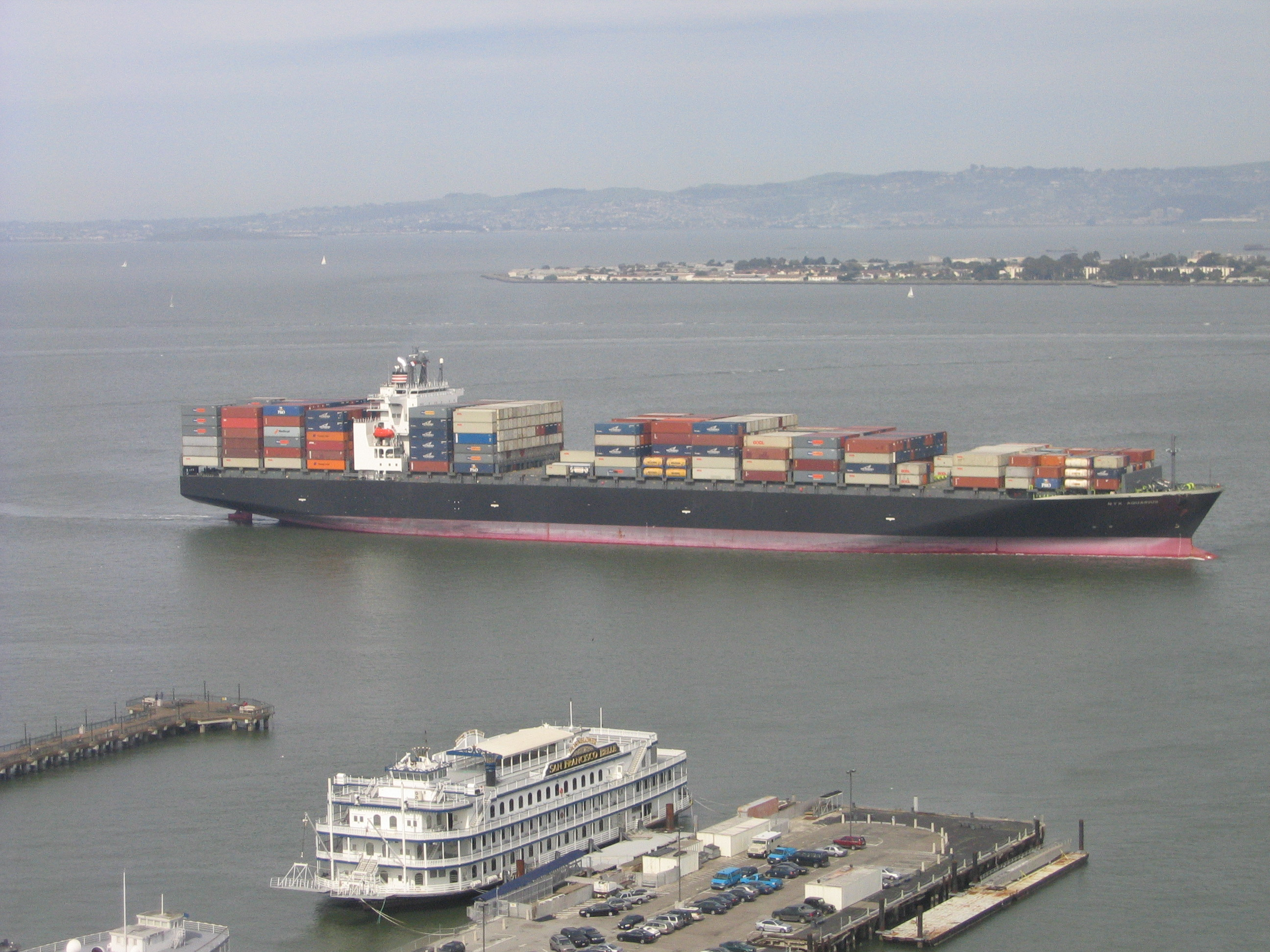 Imports Arrive at San Francisco Bay