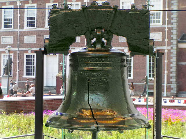 Liberty Bell by CC user basykes on Flickr