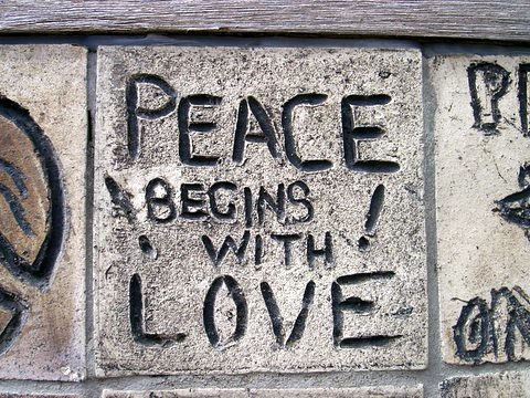 Peace begins with love