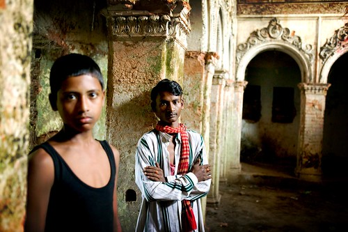 two young men in sanorgaon