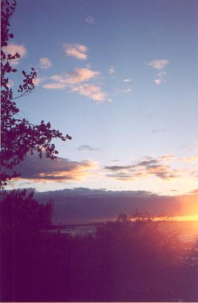 burtonisland sunset