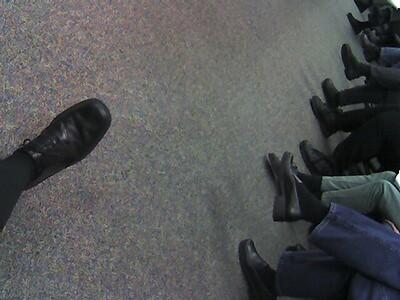 Ecco Shoes Black Patent Lace Ups
