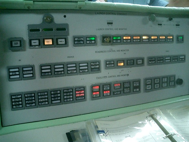 Jim Click Tucson >> Titan control room: Missile launch status panel | Flickr ...