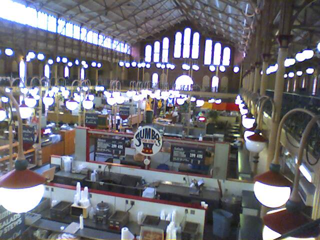 indianapolis city market i decided to take the family to t