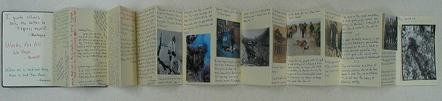 Commonplace Book (Moleskine Foldout)