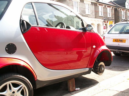 Not so Smart car