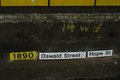 Tunnel Signage