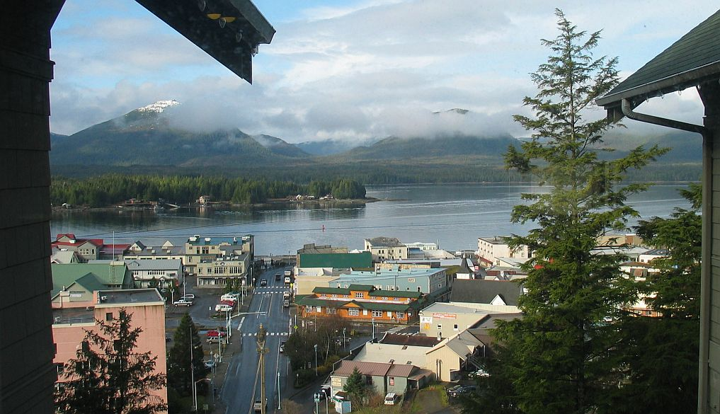 Downtown, Seaside Ketchikan