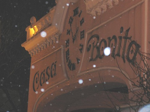 Casa Bonita in the Snow