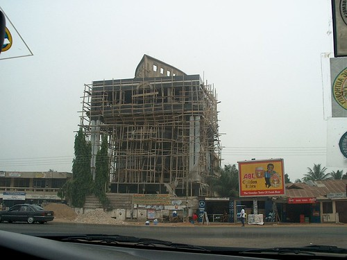 Peace FM ship building - Abeka Junction
