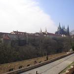 Prague Castle from the Summer Palace (Letohrádek)