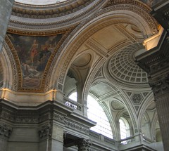Inside the Panthéon - 'Ceilings .. nothing but ceilings' #1
