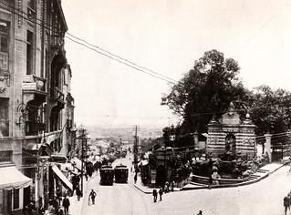 Ladeira General Carneiro , antiga Rua Joao Alfredo - 1914