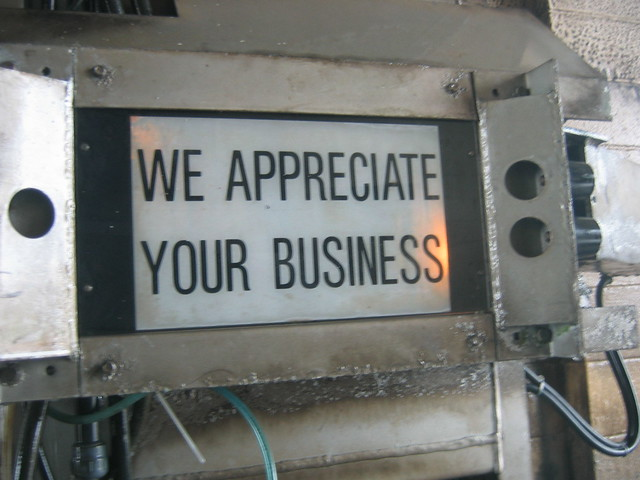We Appreciate Your Business We Appreciate Y...