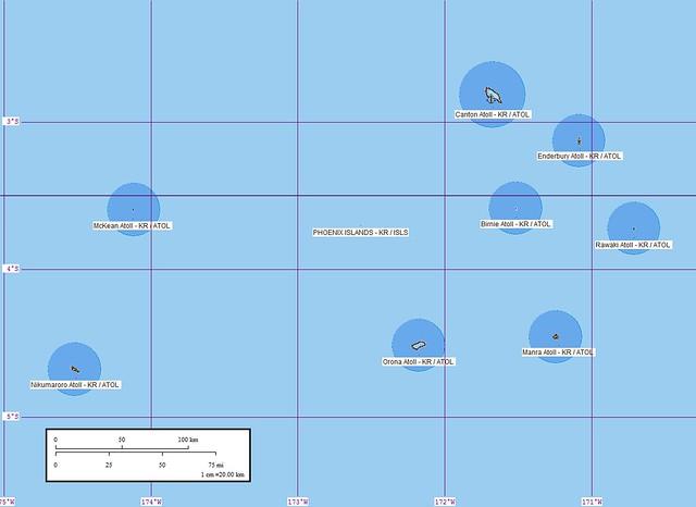 Phoenix Islands  Map  Flickr  Photo Sharing
