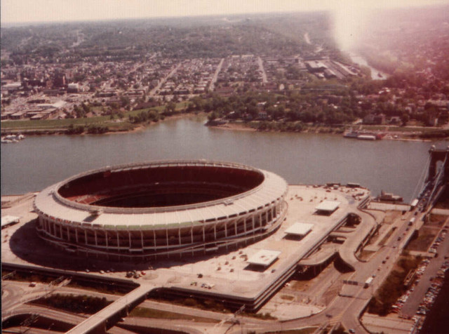 Riverfront Stadium - 1980