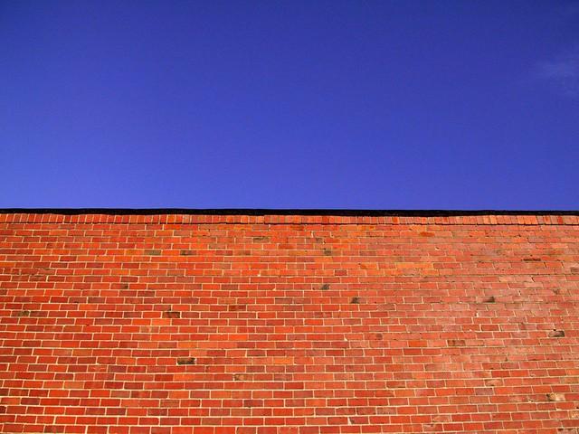 Brick wall, Canon POWERSHOT S20