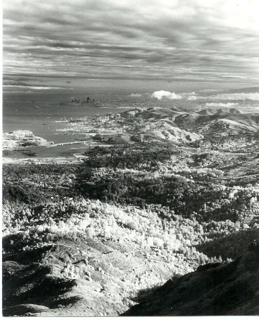 San Francisco from mount Tamalpias,California Infrared. 143-17 ---11-7-71