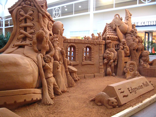 Sand creation edgewater mall biloxi mississippi flickr photo